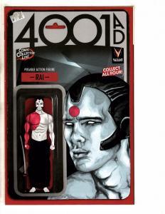 4001 AD # 1 NM 1st Print Variant Cover Rai Action Figure Comic Collector Liv MK1