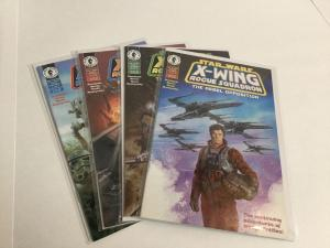 Star Wars X-Wing Rogue Squadron The Rebel Opposition 1-4 Nm Dark Horse A32