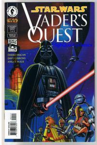 STAR WARS ; VADER'S QUEST #1, NM+, Gibbons, Luke Skywalker, more SW in store