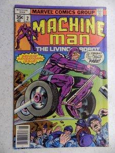 MACHINE MAN # 2 MARVEL ACTION ADVENTURE KIRBY