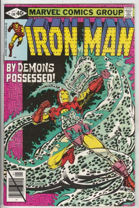 Iron Man #130 (Dec-79) NM Super-High-Grade Iron Man