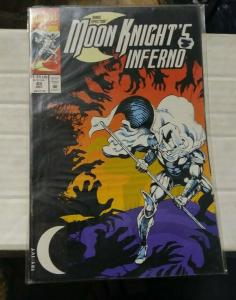MARC SPECTOR MOON KNIGHT # 45 1992 MARVEL+  HOBGOBLIN
