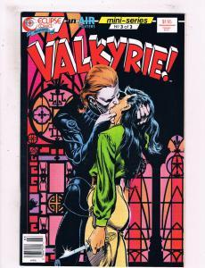 Valkyrie #3 VF Eclipse Comics Comic Book 1988 DE25