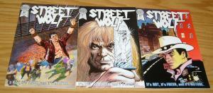 Street Wolf #1-3 VF complete series 1986 BLACKTHORNE mark wayne harris set lot 2