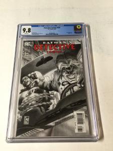 Detective Comics 826 Cgc 9.8 White Pages Batman
