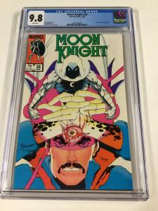 Moon Knight 36 Cgc 9.8 White Pages Marvel