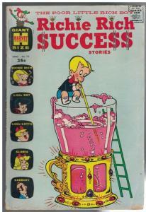RICHIE RICH SUCCESS STORIES  13 FR-G April 1967