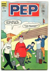 Pep #176 1964-Archie-Football cover-Josie-Betty-Veronica- F/G