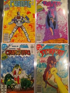 Tales of the new teen titans #1,2,3,4