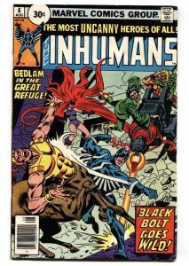 INHUMANS #6 comic book 30 cent variant cover-rare-marvel
