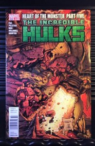 Incredible Hulks #634 (2011) Newsstand Edition