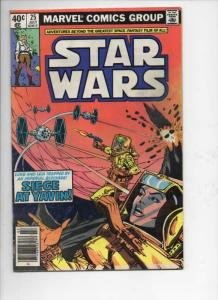 STAR WARS #25, VF, Luke Skywalker, Darth Vader, 1977, more SW in store