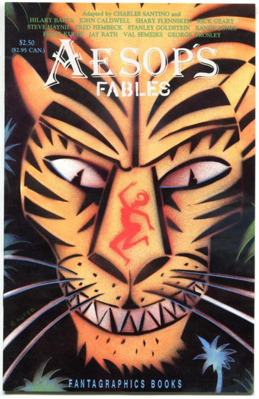 AESOP'S FABLES #1, VF/NM, Kuper, Geary, Barta, 1991, more indies in store
