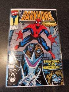 DARKHAWK #3 SPIDER-MAN HOBGOBLIN NM