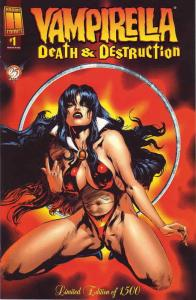 Vampirella: Death & Destruction #1A VF/NM; Harris | save on shipping - details i
