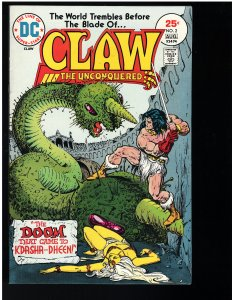Claw the Conquered #2 (DC, 1975)