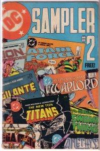 DC Sampler #2 (1984) FR