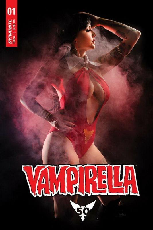 VAMPIRELLA (2019 DYNAMITE) #1 VARIANT CVR E COSPLAY PRESALE-07/17