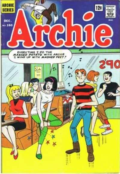 Archie Comics #160, Good+ (Stock photo)
