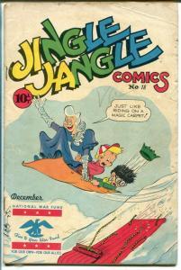 Jingle Jangle #18 1945-Famous Funnies-Santa Claus-George Carlson-FR