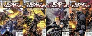END OF NATIONS (2012 WS) 1-4  based upon online game! COMICS BOOK