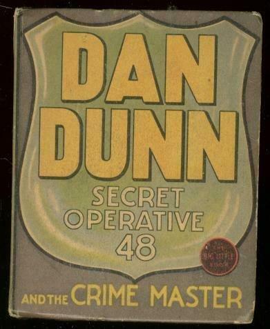 DAN DUNN SECRET OPERATIVE 48 #1171-BIG LITTLE BOOK 1937 FN