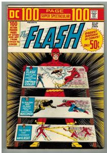 DC 100 PAGE SUPER SPECTACULAR DC-22 Flash  F-VF