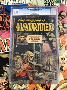 This Magazine is Haunted #4 CGC 5.0 VG/F fawcett publications 1952 golden age