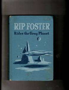 Rip Foster Rides The Gray Planet HARDCOVER Book 2304 Whitman Publishing Sci JL20