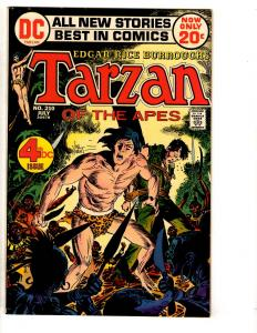 Tarzan # 210 VF/NM DC Comic Book Early DC Issue Joe Kubert Cover Art TD6