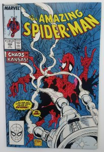 Amazing Spider-Man 302, Silver Sable, Todd McFarlane, Key Issue, High Grade