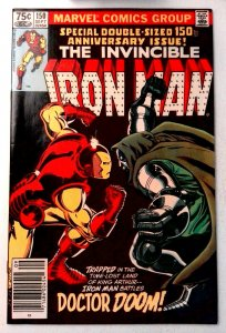 Iron Man #150 Marvel 1981 VF+ Bronze Age Comic Book 1st Print