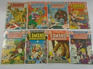 Kamandi comic lot 56 different from #1-59 avg 5.0 VG FN (1972-78)