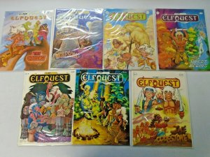 Elfquest Warp Graphics From: #3-20 14 Different (1978-1984)