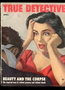 TRUE DETECTIVE-04/1953-SLAYER-NAZI-CREMATION-GUN BATTLE-UNDERWORLD G
