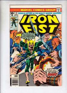 Iron Fist #9 (Nov-76) VF High-Grade Iron Fist