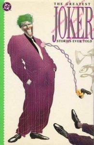 Greatest Joker Stories Ever Told #1, VF+ (Stock photo)