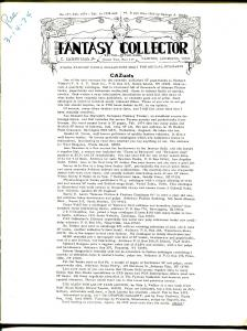 Fantasy Collector #177 1974-Caz-early comic buying/selling resource-pulps-VG