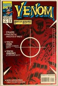 Venom nights of vengeance #1 6.0 FN (1994)