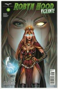 Robyn Hood Vigilante #3 Cvr C Reyes (Zenescope, 2020) NM