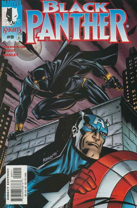 Black Panther (Vol. 2) #9 VF/NM; Marvel | save on shipping - details inside