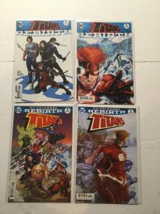 Titans Rebirth 1 Ans One Shot With Variants 4 Issue Lot Nm Near Mint IK