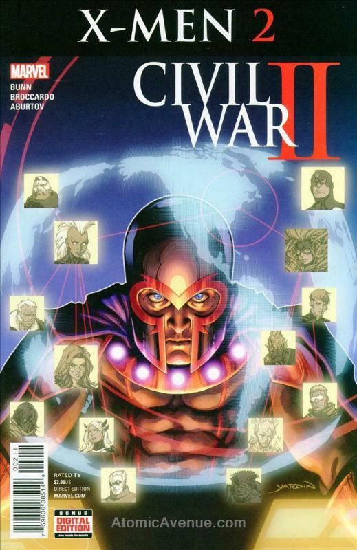 Civil War II: X-Men #2 VF/NM; Marvel | save on shipping - details inside