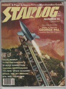 STARLOG MAGAZINE #10 VG+ A04908