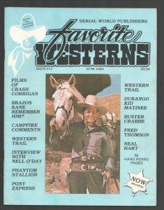 Favorite Westerns #12 1983-Crash Corrigan-Neil O'Day-Durango Kid-Fred Thompso...