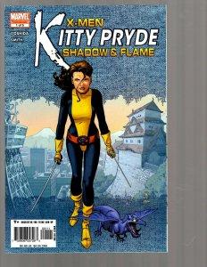 12 Comics Kitty Pryde #1 2 3 4 5 Last Hero #1 2 3 4 5 Kazar #9 Justice #1 EK19