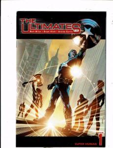 Lot of 5 The Ultimates Marvel Comic Books #1 2 4 5 6 AK2
