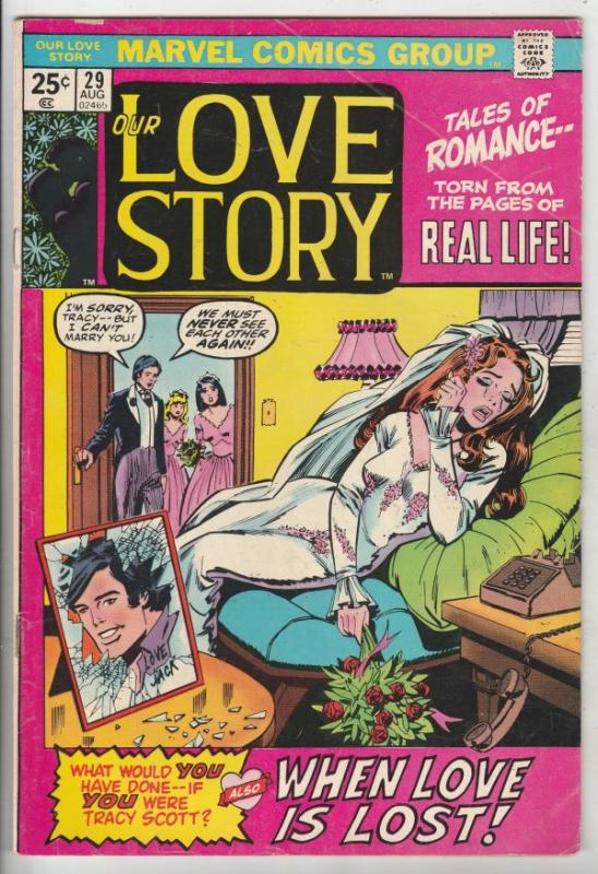 Our Love Story #29 (Aug-74) FN/VF+ Mid-High-Grade