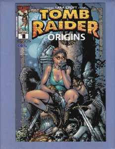 Tomb Raider Origins #1 NM Top Cow 2000