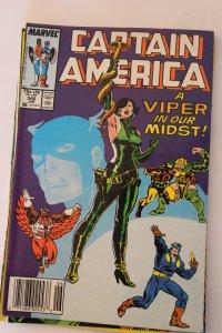 Captain America 342 VF